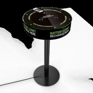 Mesa Teram - Cargadores móviles para eventos