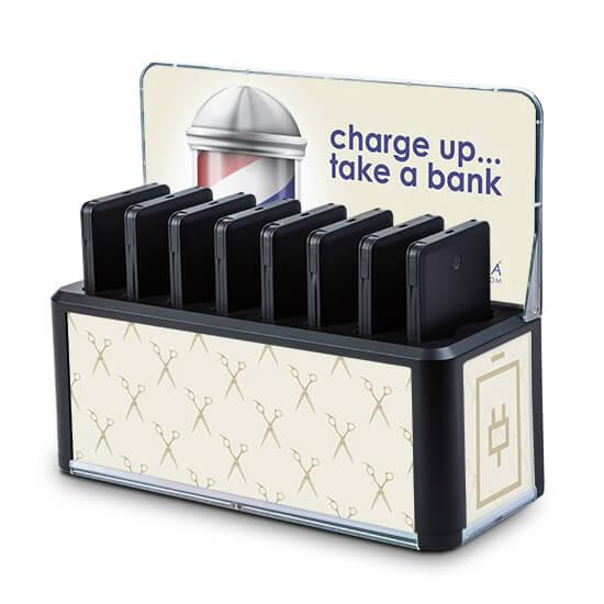 Bases de carga para móviles 8 baterías