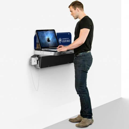 Mostrador con recarga móvil para empresas