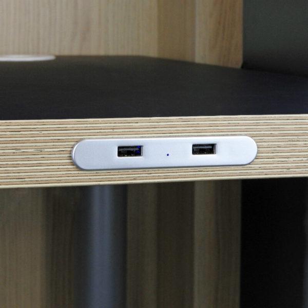 Cargador USB para mobiliario