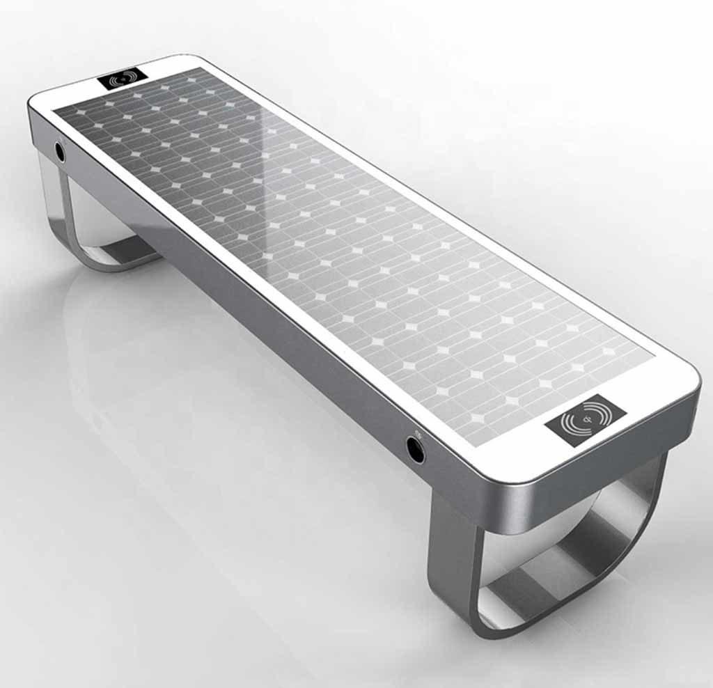 Banco energía solar para cargar móviles